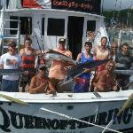  Us and the crew after our fishing trip