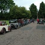 Vintage Austins gather at Ford for a Rally