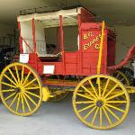  Stagecoach on display