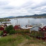 The small community on Haholmen island