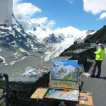  Painting trip to the nearby Grossglockner