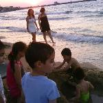  Kids playing with local Greece mates