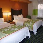  Clean, spacious and comfortable beds and pillow and elegant room.