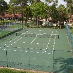 Property has 2 tennis courts