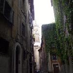  A view from Via dei Coronari