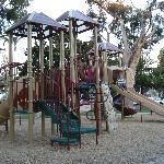 Playground at the park 2 blocks down