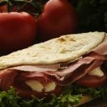 Piadina (typical from Ravenna)