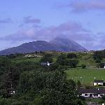 View from Rockville B&B, Westport, Co. Mayo