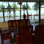  lobby area looking out to sea