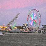  Ferris wheel at the amusement park on the Wildwood boardwalk