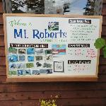 Mt. Roberts information board