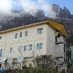 Laban Rata - a welcomed sight on your climb up Kinabalu