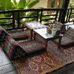 Lounge Area on Decking