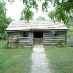 One of the old houses at Fanshawe Pioneer Village.