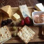 The Cheeseboard with Chilli ice cream