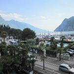  Lake Garda from the balcony