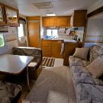 Teton Rental Trailer - Paradise Shores RV Park, Bridgeport Ca Rental Trailers
