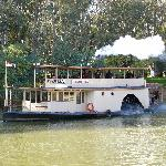 Paddle Steamer Canberra