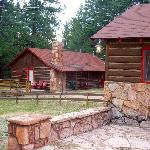 Rustic cabins for rustic people who love to ride horses.