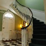 Stair Case leading to rooms