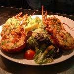  Luscious Lobster - grilled with Garlic Butter...yummy!