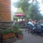 Another view from the courtyard seating. Very quaint and cozy!