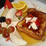  Our &quot;French toast&quot; breakfast...very popular!