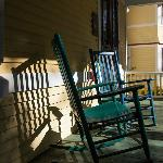 Wrap around porches with relaxing rocking chairs just beckon for a cup of coffee or lemonade