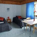 Double room in the main building, Jongunjoen Matkailu, guest house in North Karelia, Finland