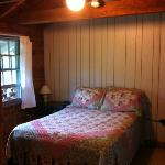 Comfy bed in cabin 18