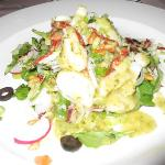 Scallop salad-one of my favorite dishes during my vacation