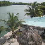 Top view of the Belize River. This is the 3rd floor