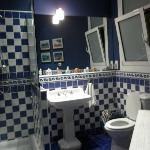 The Blue Bathroom