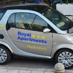  Rental Smart Car