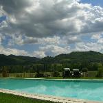  panorama dalla piscina