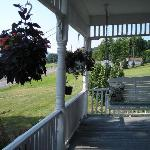 Porch at B & B