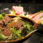  wahyu beef salad