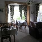 Llys Aeron Breakfast Room