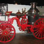  horse drawn fire truck