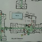  Plano del hotel