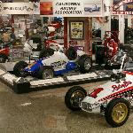 Part of the stunning array of history-making cars, engines, parts, toys and memorabilia.