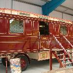 An Edwardian Showman's Living Wagon
