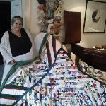 Signora Reingad, she is an Talent and makes Patchwork