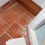 strains all over tiles,,not just bathroom