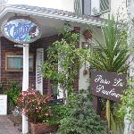 Entrance to the Cottage Restaurant on Lincoln Street in Carmel by the Sea, California