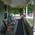  Front porch(right side) Great spot w/ a cup of coffee.