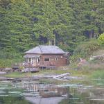  View of the cabin on the bay