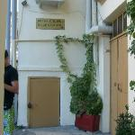Entrance of the hostel