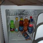 Fridge with mini-bar