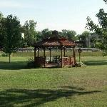  The gazebo.